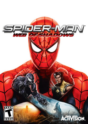 Capa do Spider-Man: Web of Shadows