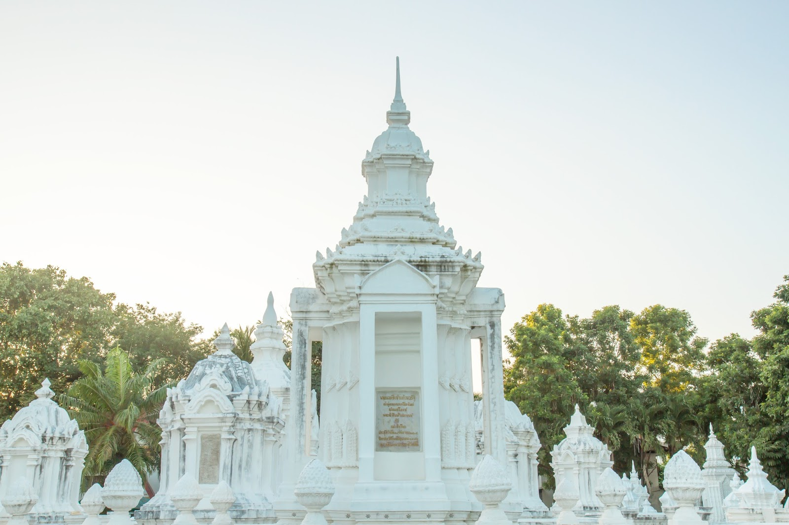 White temples, chiang mai, thailand