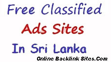 Post Free Classified Ads in Sri Lanka
