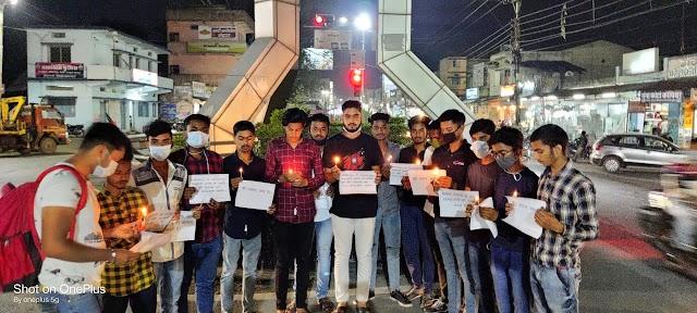 खबर पत्रवार्ता : नक्सलियों की शर्मनाक करतूत का मुहतोड़ जवाब दें जवान ,नारायणपुर नक्सली हमले में शहीद जवानों को दी गई श्रंद्धाजलि .....
