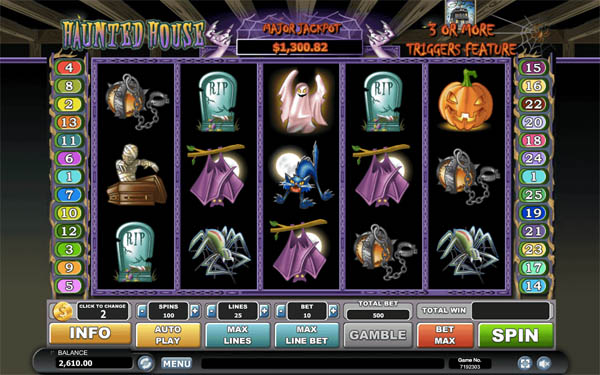 Main Gratis Slot Indonesia - Haunted House Habanero