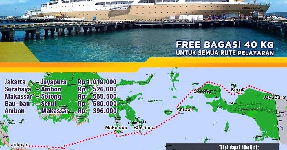 Jadwal Kapal Pelni Dobonsolo Desember 2020 Asuransi Perjalanan