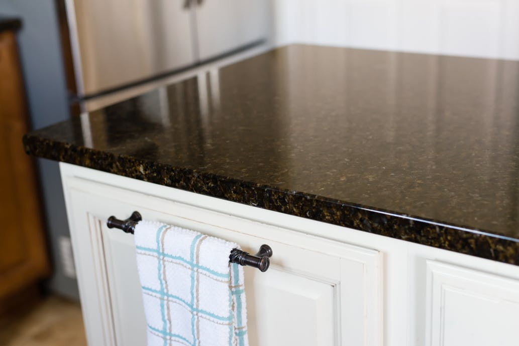 Golden Garnet Granite Countertops 1