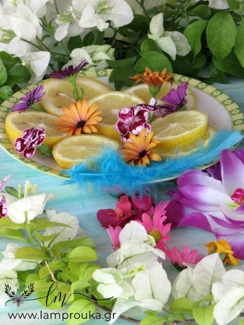 λουλούδια για να φτιάξεις μπολ από πάγο