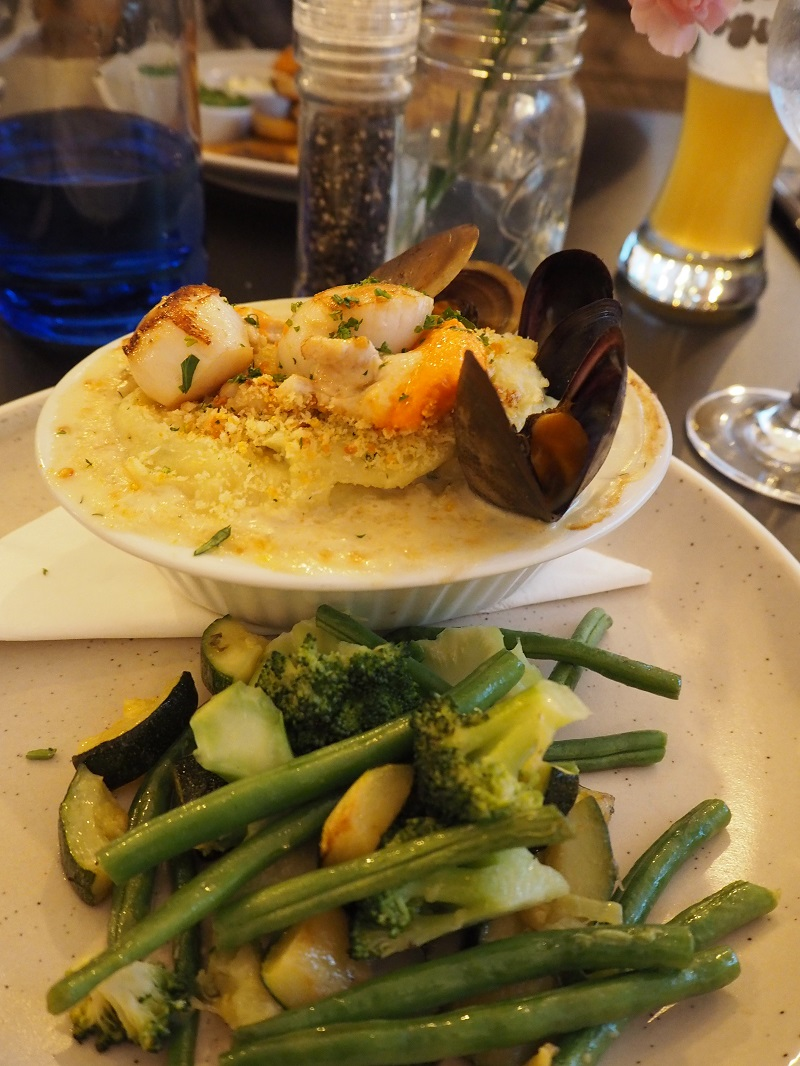The String's Fish pie