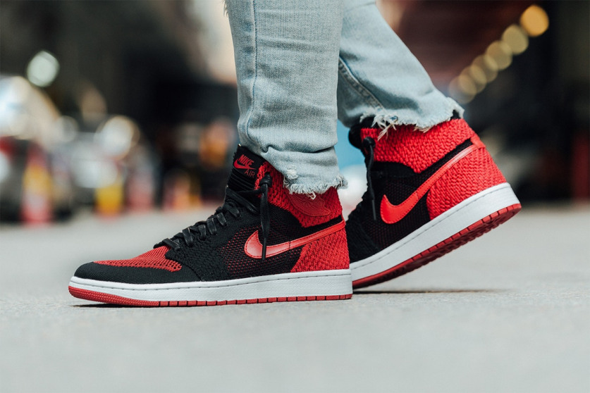 45324776995e5 Swag Craze: First Look: Nike Air Jordan 1 Retro High Flyknit Banned ...