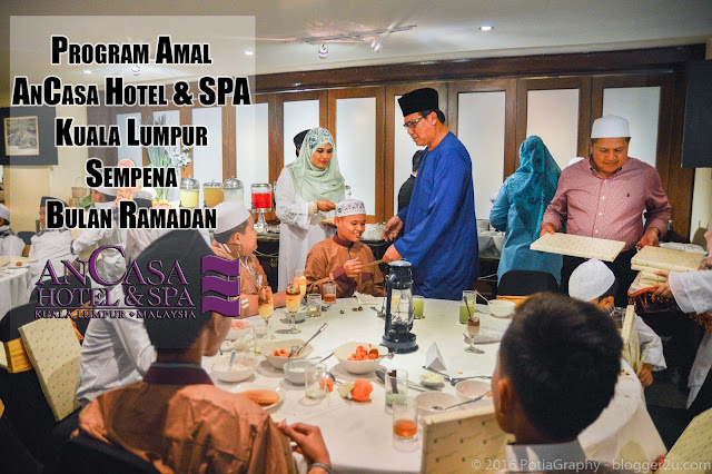 Program Amal Ancasa Hotel & SPA Kuala Lumpur Sempena Bulan Ramadan