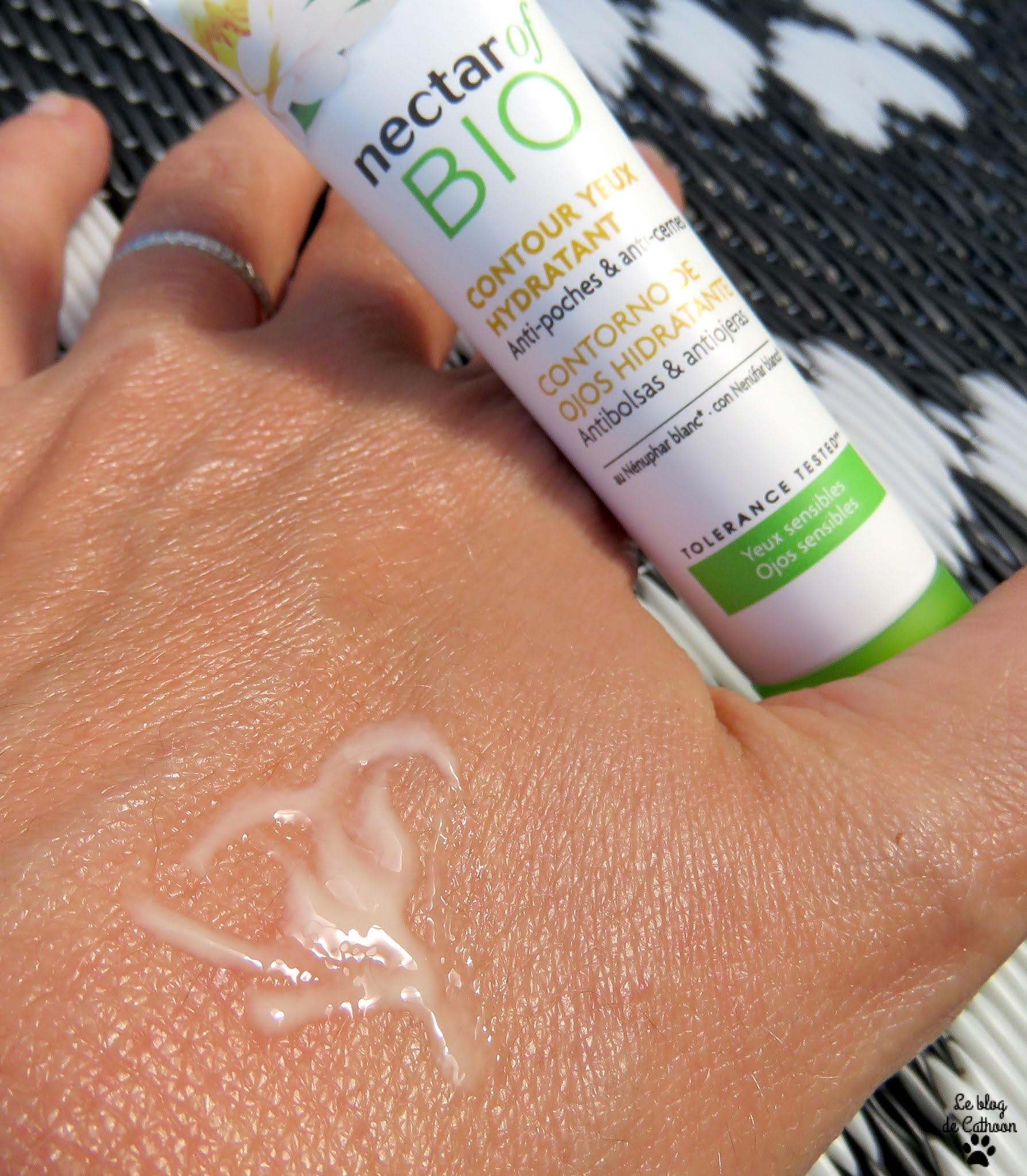 Contour Yeux Hydratant - Anti-poches et Anti-cernes - Nectar Of Bio (Carrefour)