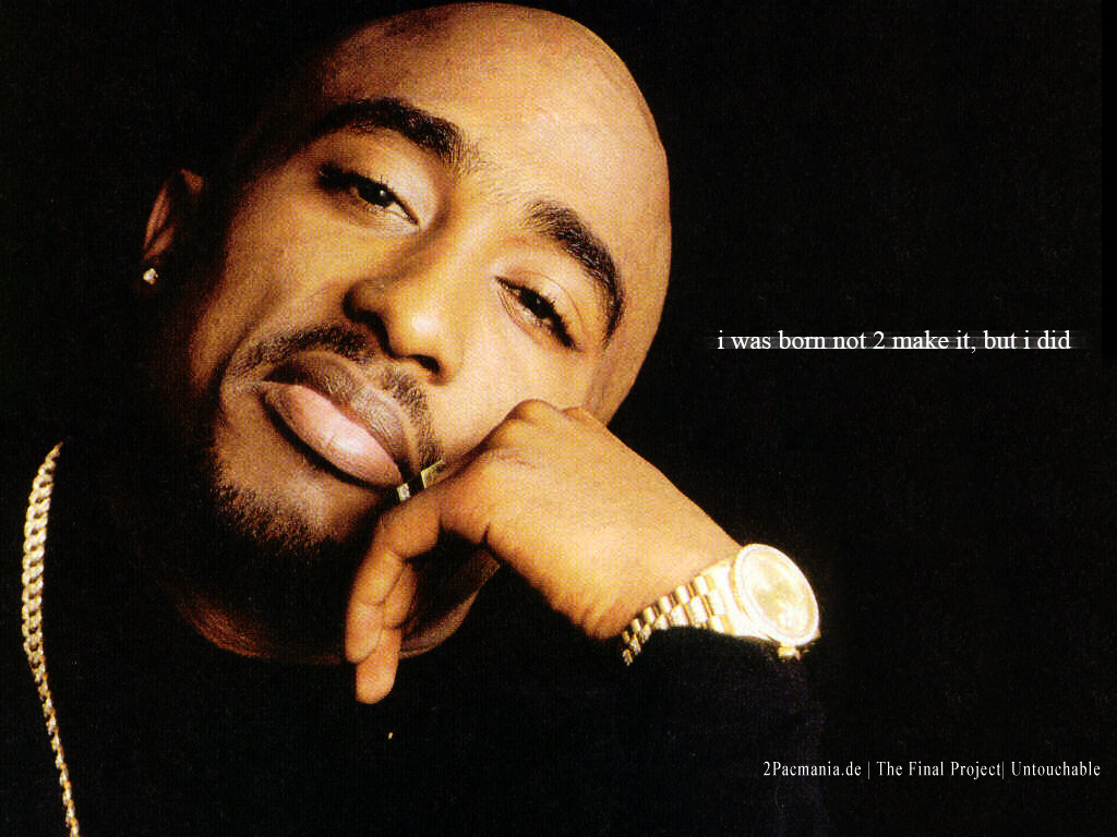 Tupac Death Quotes: Chatter Busy: Tupac Shakur Quotes