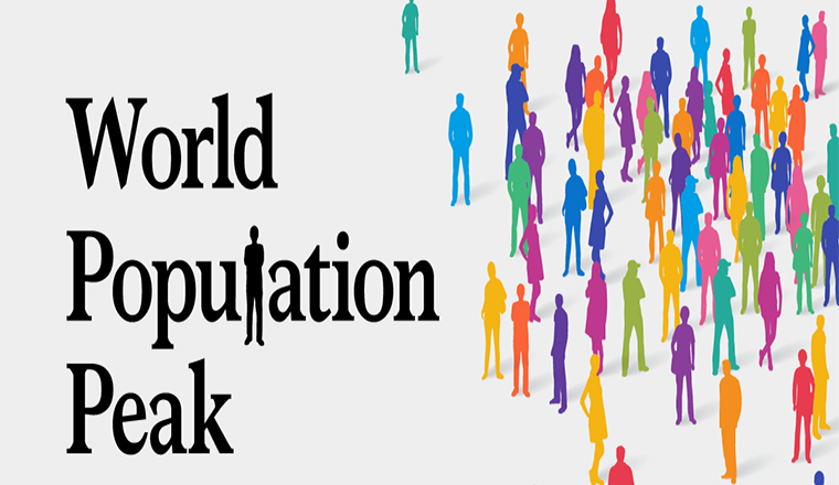 The World Population in 2100, by Country #infographic