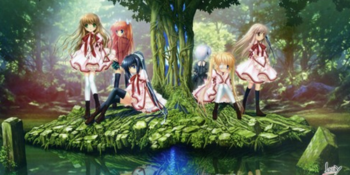 Visual novel Rewrite ganha anime!