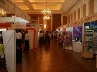 Software Solutions exhibitions in Strand Hotel,  Yangon Myanmar