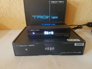 NEONSAT TRON HD NOVA ATUALIZAÇÃO V CT46 - 14/06/2020