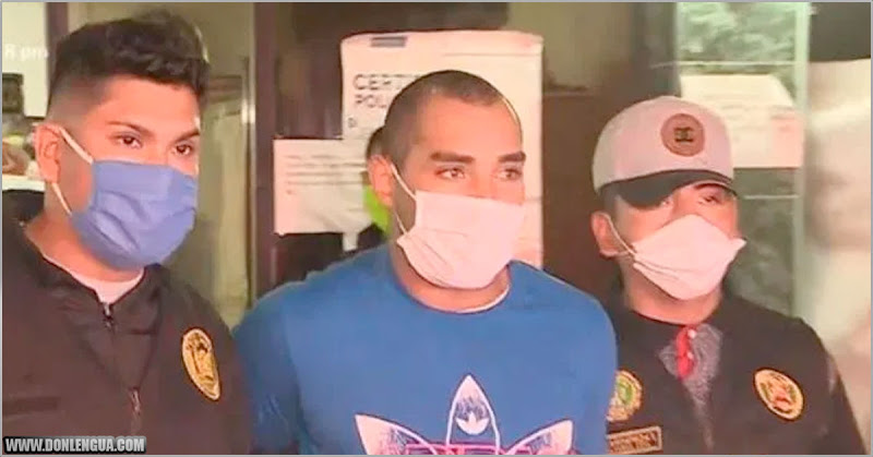 Venezolano buscado por robo y homicidio fue detenido en Perú