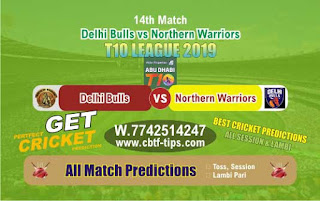 Who will win Today T10 League 2019, 14th Match NOR vs DEB, 100% Sure Prediction