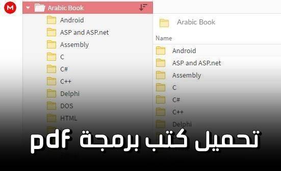كتب pdf لتعلم لغات البرمجة