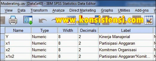 Analisis Regresi dengan Variabel Moderating dalam SPSS