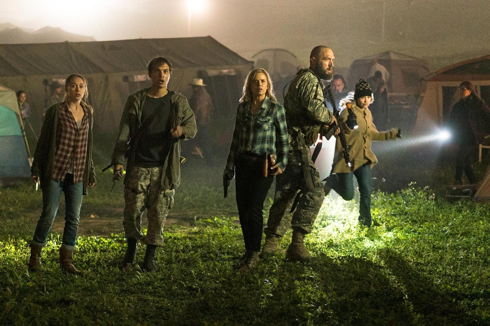 Madison Nick Alicia en la midseason finale de la tercera temporada de Fear The Walking Dead