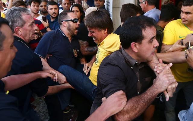 Ataque contra Jair Bolsonaro é crime hediondo, diz especialista