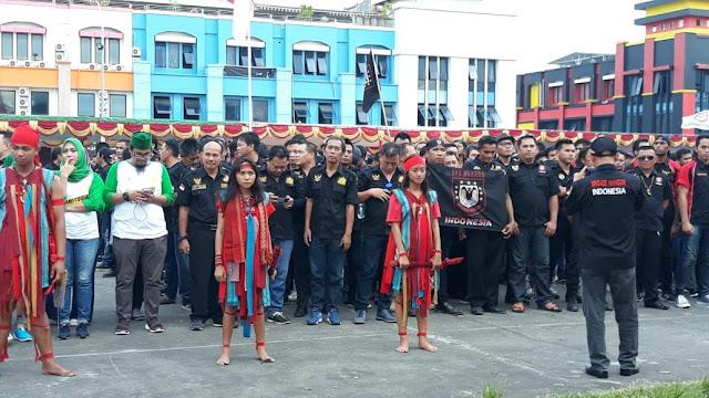 Gelar Deklarasi Damai Pilpres dan Pileg tahun 2019, Ribuan Ormas Ramaikan Megamas Manado
