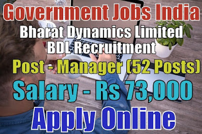 Bharat Dynamics Limited BDL Recruitment 2017