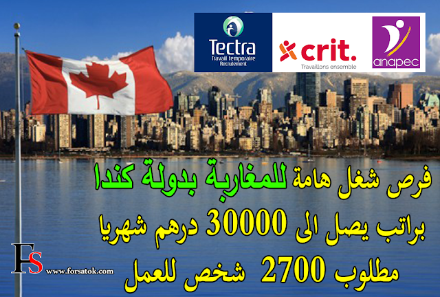 Job opportunities for Moroccans in Canada