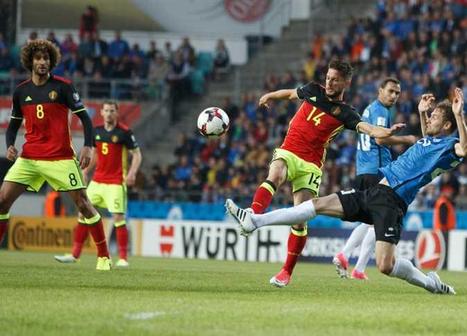 تعرف على موعد مباراة إستونيا ضد بلجيكا والقنوات الناقلة لها