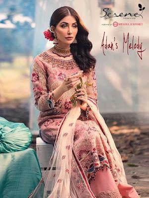 Serene Adans Melody pakistani Suits wholesaler