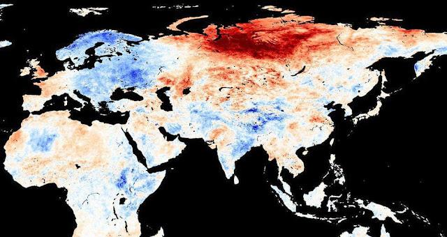 Πρωτόγνωρος καύσωνας στη Σιβηρία: Στους 48 βαθμούς η θερμοκρασία - Πάνω από 32 δασικές πυρκαγιές