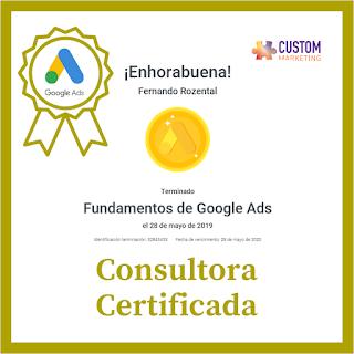 Certificación Google Ads. Fundamentals