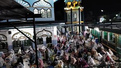 Shalat Lailatul Qadar, Jemaah Padati Masjid Taqwa Lakessi Parepare