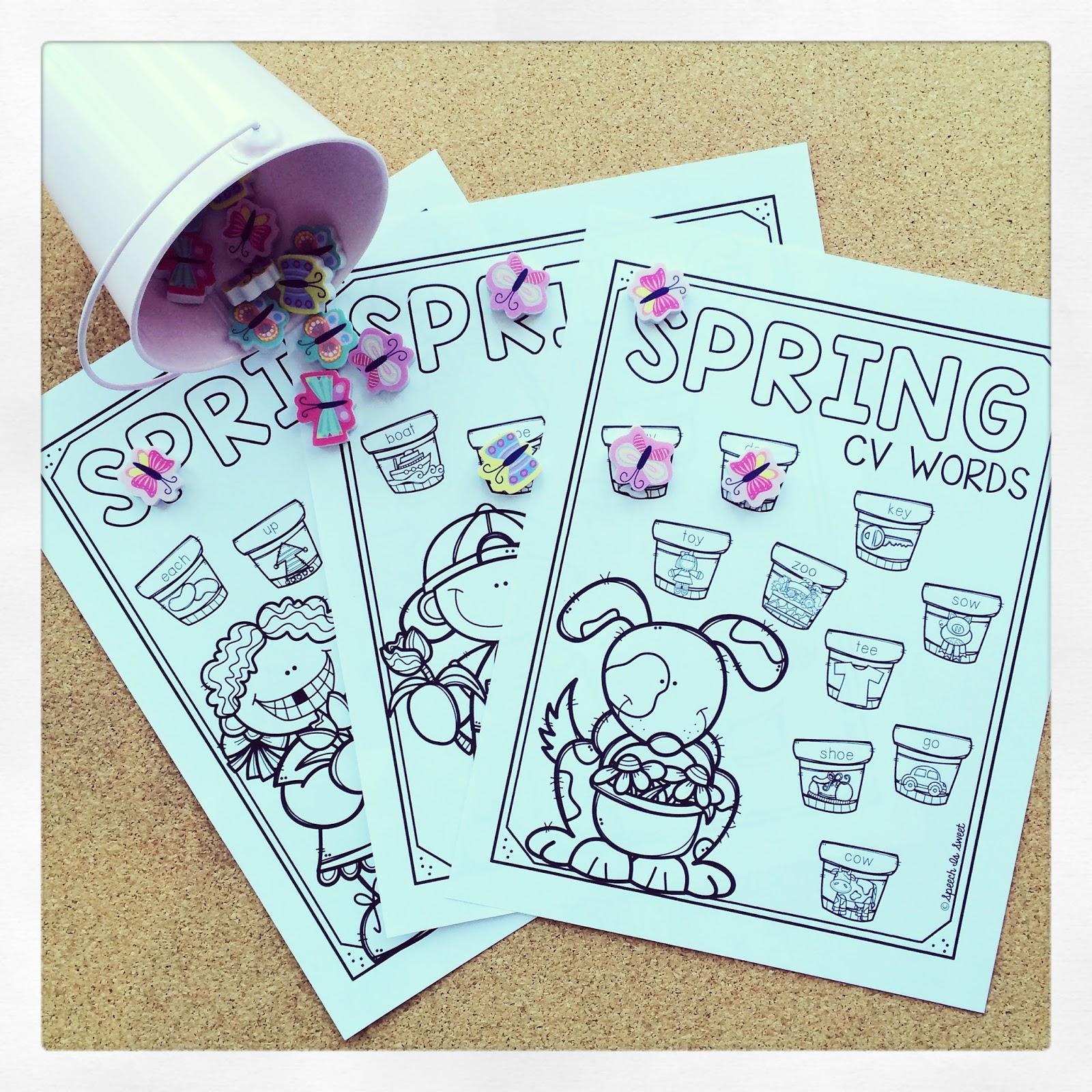 speech is sweet spring apraxia