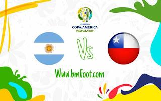 البث المباشر مباراة تشيلي و الارجنتين مباشر