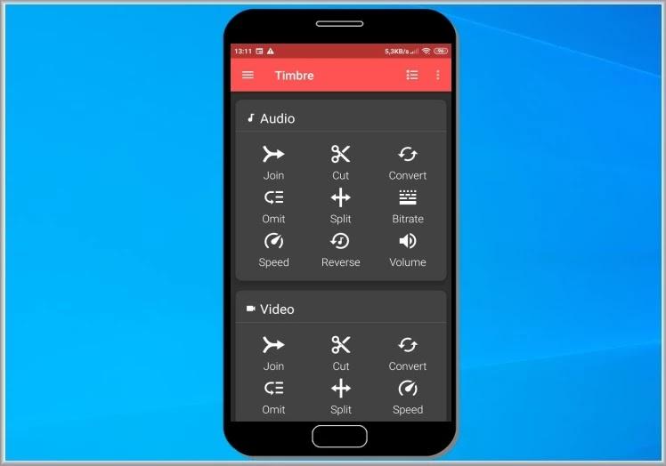 Timbre : Η καλύτερη εφαρμογή  επεξεργασίας ήχου και βίντεο για το κινητό σας