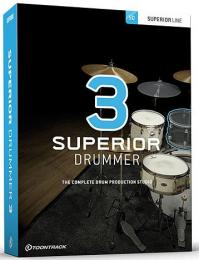 BOX_Toontrack Superior Drummer 3.1.5 Full