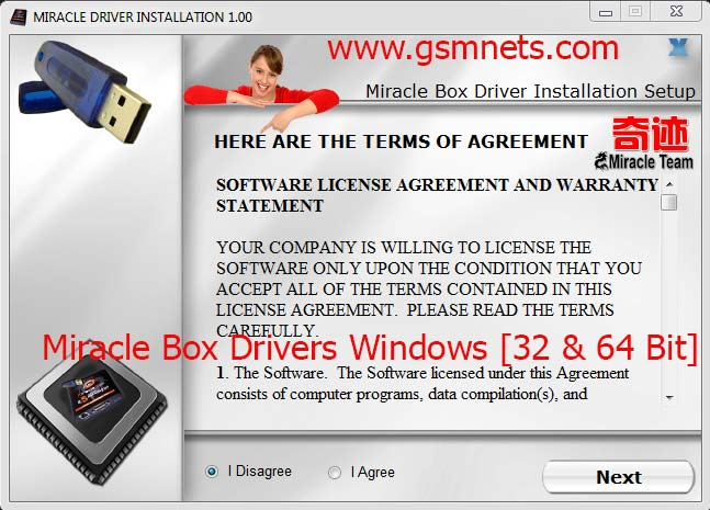 Miracle Box Drivers All in One Setup Windows [32 & 64 Bit]
