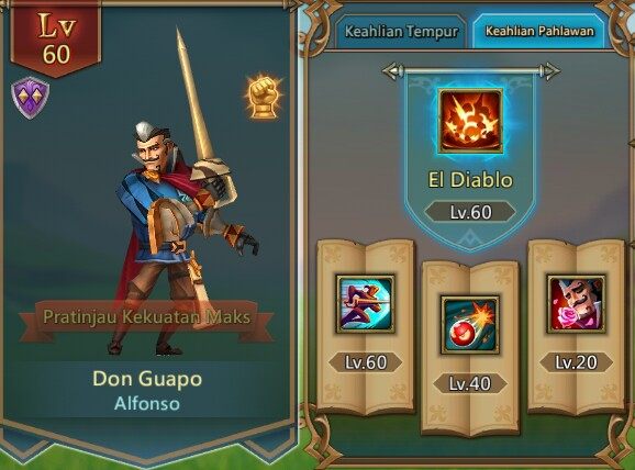 New Heroes Release Don Guapo Lords Mobile Game 2019