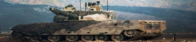 China Deploys Digital Camouflage Tanks Along LAC