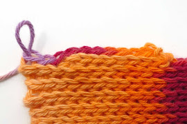 Slip stitch - short rows 2