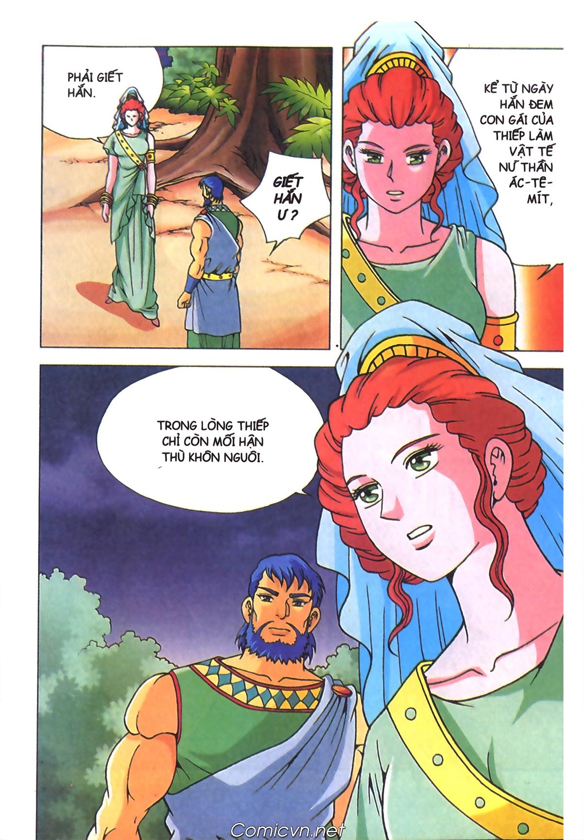 Thần Thoại Hy Lạp Màu - Chapter 70: Nàng Ê lếch tơ - Pic 3