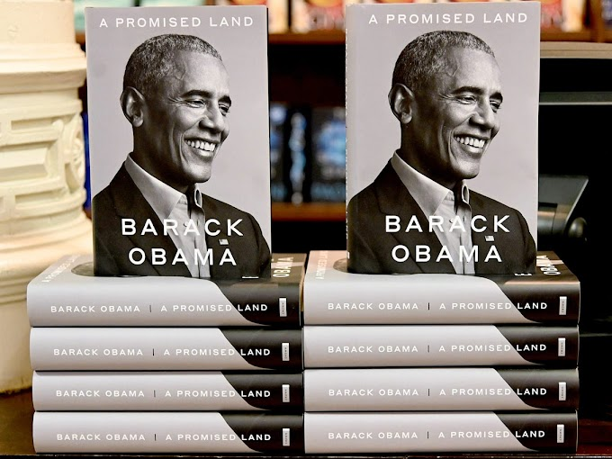 Barack Obama's new book breaks records as blacks celebrate 'third term in office'