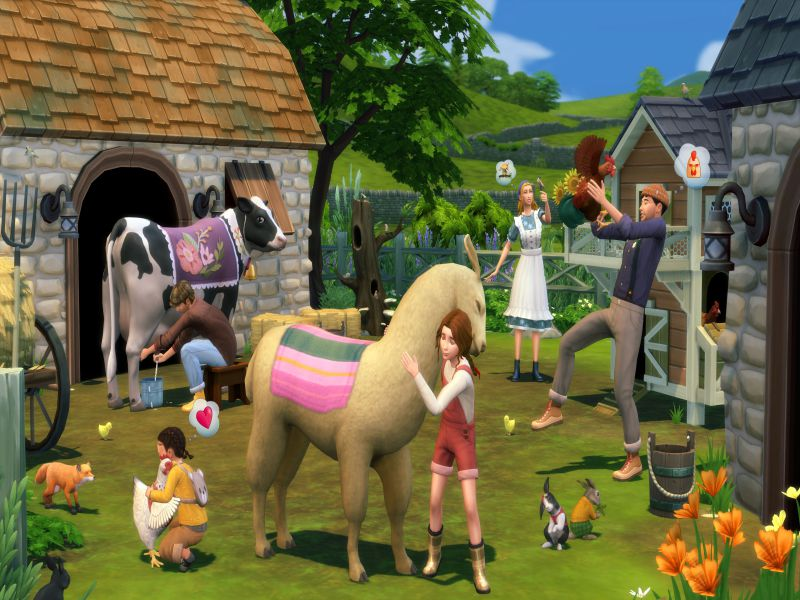 The Sims 4 Cottage Living PC Game Free Download