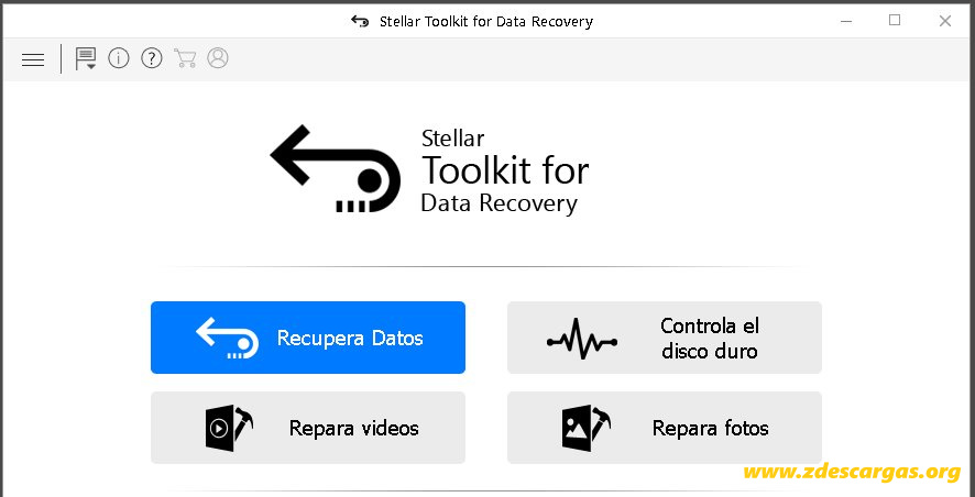 Stellar Toolkit for Data Recovery Full Español