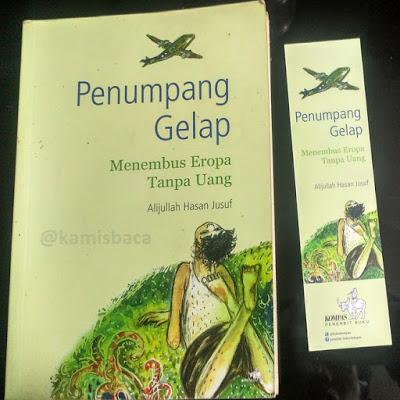 Cover Novel Penumpang Gelap Karya Alijullah Hasan Jusuf/ Koleksi Pribadi