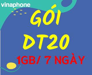 Gói DT20 VinaPhone