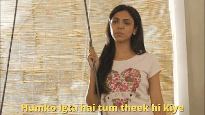 Humko lgta hai tum theek hi kiye | Mirzapur Meme Templates