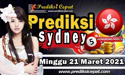 Prediksi Sydney 21 Maret 2021