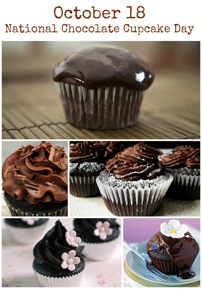 National Chocolate Cupcake Day Wishes Images