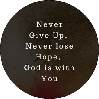 Never Give up moivational status