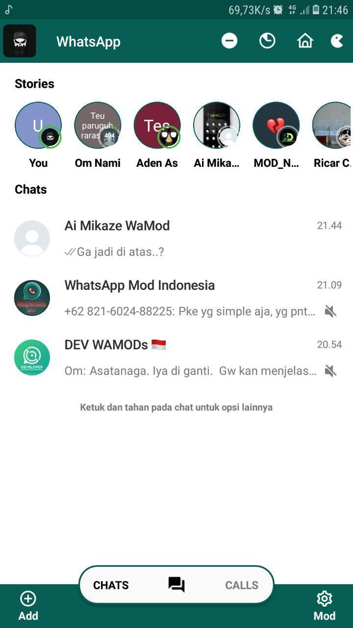 C YoWA V8.25 Latest Version WhatsApp Mod Bug Fixed Apk Base On FouadMods by Ciben